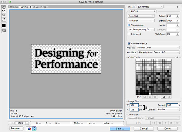 Optimizing Images | Designing for Performance